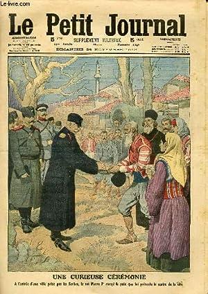 LE PETIT JOURNAL - supplément illustré numéro 1149 - UNE CURIEUSE CEREMONIE - ...