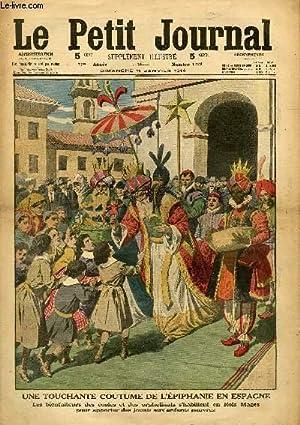 LE PETIT JOURNAL - supplément illustré numéro 1208 - UNE TOUCHANTE COUTUME DE ...