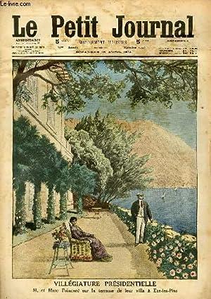 LE PETIT JOURNAL - supplément illustré numéro 1222 - VILLEGIATURE ...