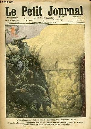 LE PETIT JOURNAL - supplément illustré numéro 1278 - VICTIMES DE LEUR PROPRE ...