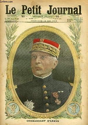 LE PETIT JOURNAL - supplément illustré numéro 1325 - LE GENERAL DE MAUD-HUY, ...