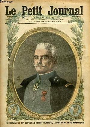 LE PETIT JOURNAL - supplément illustré numéro 1388 - LE GENERAL J. B. DUMAS, ...