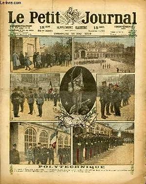 LE PETIT JOURNAL - supplément illustré numéro 1481 - POLYTECHNIQUE - LES COTES...