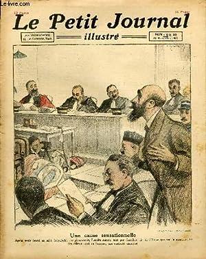 LE PETIT JOURNAL - supplément illustré numéro 1613 - UNE CAUSE SENSATIONNELLE ...