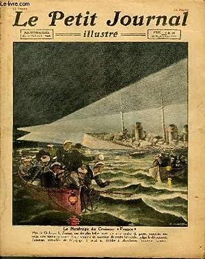 LE PETIT JOURNAL - supplément illustré numéro 1655 - LE NAUFRAGE DU CROISEUR ...