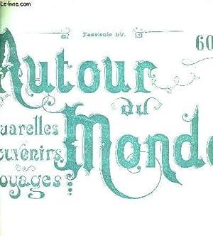 AUTOUR DU MONDE FASCICULE LV - AQUARELLES SOUVENIRS VOAYGES - LA ROUTE DE LA CORNICHE SITES ET ...