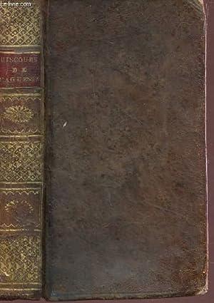 DISCOURS ET MORCEAUX CHOISIS - DE M. LE CHANCELIER D'AGUESSEAU, A L'USAGE DE MM. LES ...