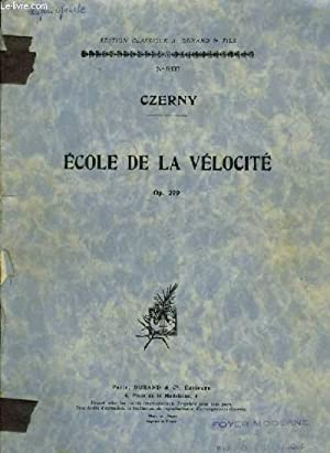 ECOLE DE LA VELOCITE - OP.299.: CZERNY