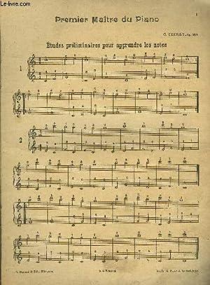 Premier maître du piano: CZERNY