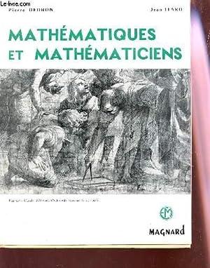 MATHEMATIQUES ET MATHEMATICIENS: DEDRON PIERRE / ITARD JEAN