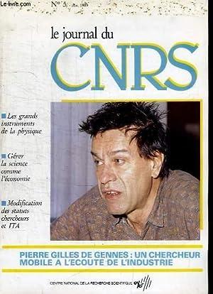 Le Journal du CNRS, n°5 : Pierre: COLLECTIF