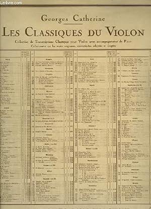 GAVOTTE ET MUSETTE - POUR PIANO ET VIOLON.: BACH JOHANN SEBASTIAN / CATHERINE GEORGES