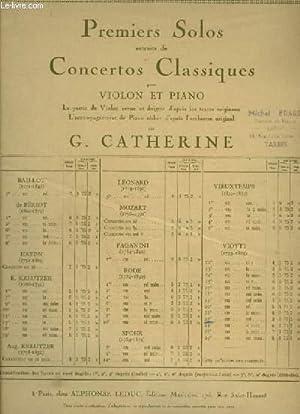 23° CONCERTO - POUR PIANO ET VIOLON.: CATHERINE GEORGES / VIOTTI