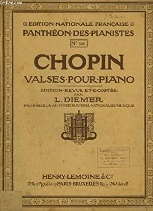 VALSES POUR PIANO.: CHOPIN FREDERIC