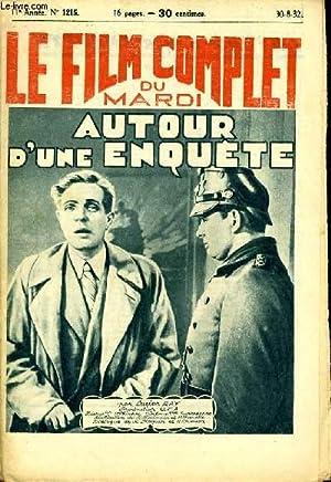 LE FILM COMPLET DU MARDI N° 1215 - 11E ANNEE - AUTOUR D'UNE ENQUETE: LUCIEN RAY