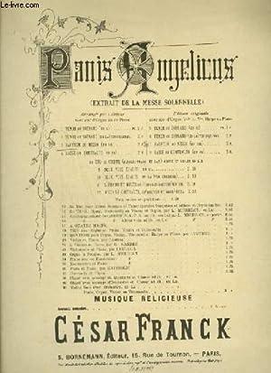 PANIS ANGELICUS - EXTRAIT DE MESSE SOLENELLE: FRANCK CESAR