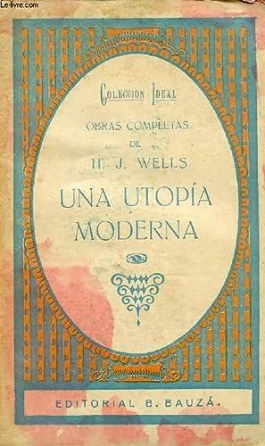UNA UTOPIA MODERNA: WELLS H. JORGE