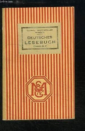 Deutsches Lesebuch (Deutsche Literatur und Kultur). Classes de 2nde.: CLARAC E. / WINTZWEILLER / ...