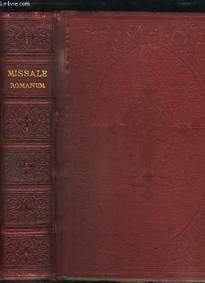 Missale Romanum ex decreto sacrosancti concilii tridentini: COLLECTIF