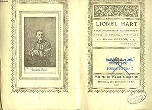 LIONEL HART. Engagé volontaire glorieusement tombé au: PIERRE PRALON