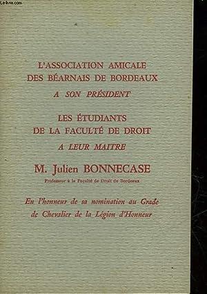 L'ASSOCIATION AMICALE DES BEARNAIS DE BORDEAUX A: COLLECTIF
