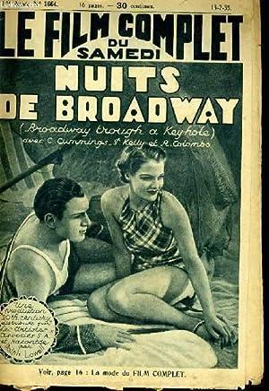 LE FILM COMPLET DU SAMEDI N° 1664 - 14E ANNEE - NUITS DE BROADWAY: COLLECTIF
