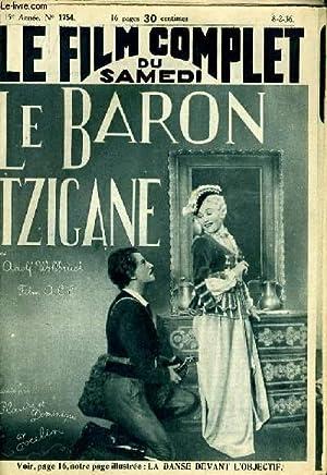 LE FILM COMPLET DU SAMEDI N° 1754 - 15E ANNEE - LE BARON TZIGANE: COLLECTIF