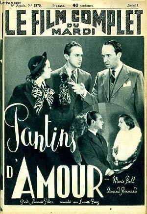 LE FILM COMPLET DU MARDI N° 1970 - 16E ANNEE - PANTINS D'AMOUR: COLLECTIF