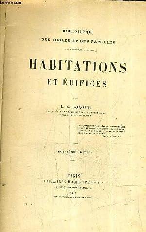 HABITATIONS ET EDIFICES. / 3E EDITION .: L.C. COLOMB