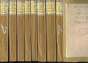HISTOIRE DE LA LITTERATURE GRECQUE PROFANE, DEPUIS: M. SCHOELL