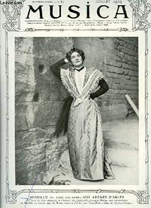 MUSICA - N°82 : JUILLET 1909 -: COLLECTIF