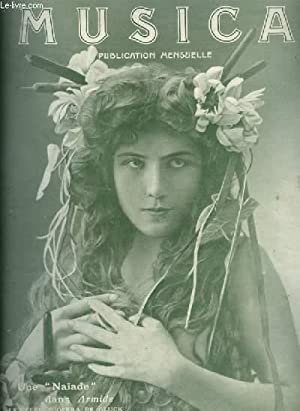 MUSICA - N°35 : AOUT 1905 - Chronique du mois + Antoine Rubinstein + Un instrument soudanais : ...