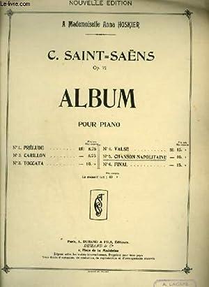 CHANSON NAPOLITAINE - POUR PIANO.: SAINT SAENS C.