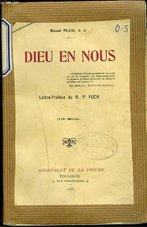 DIEU EN NOUS: RAOUL PLUS, S.J.