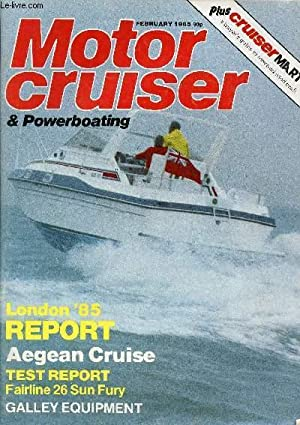 MOTOR CRUISER & POWERBOATING, FEB. 1985 (Contents: COLLECTIF