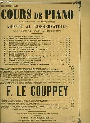 COURS DE PIANO - N°1 : A.B.C. DU PIANO - METHODE POUR LES COMMENCANTS: LE COUPPEY FELIX