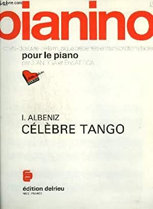 PIANINO N°148 : CELEBRE TANGO.: ALBENIZ I.