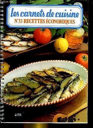 Les carnets de cuisine n 33 recettes economiques par - Cuisine economique 1001 recettes ...