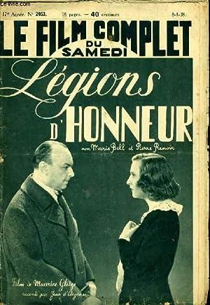 LE FILM COMPLET DU SAMEDI N° 2053 - 17E ANNEE - LEGIONS D'HONNEUR: COLLECTIF