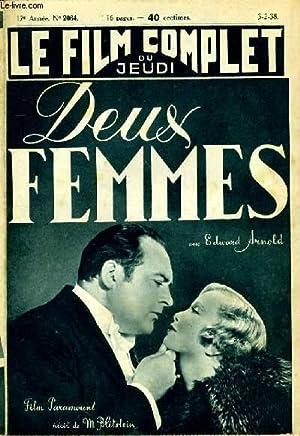 LE FILM COMPLET DU JEUDI N° 2064 - 17E ANNEE - DEUX FEMMES: COLLECTIF