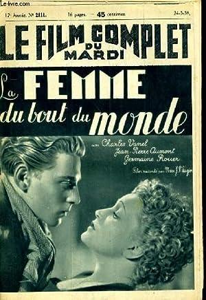 LE FILM COMPLET DU MARDI N° 2111 - 17E ANNEE - LA FEMME DU BOUT DU MONDE: COLLECTIF