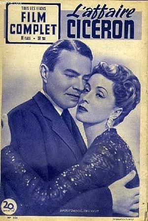 TOUS LES JEUDIS - FILM COMPLET N° 336 - L'AFFAIRE CICERON: COLLECTIF