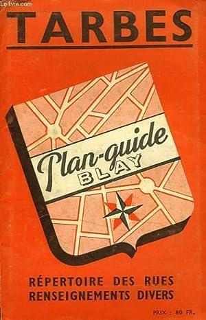 PLAN GUIDE BLAY DE TARBES by COLLECTIF: (1954) Map | Le-Livre