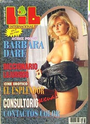 N°483 ACTRIZ PORNO BARBARA DARE. - texte en espagnol - RESERVE AUX ADULTES.: LIB INTERNACIONAL