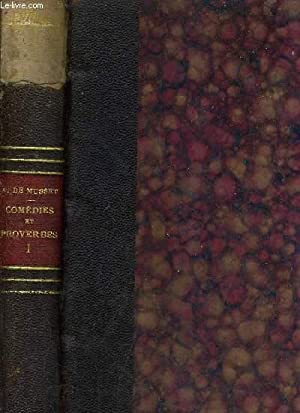 COMEDIES ET PROVERBES - EDITION ETABLIE PAR: DE MUSSET ALFRED