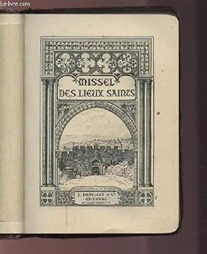 MISSEL DES LIEUX SAINTS.: COLLECTIF