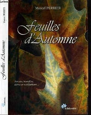 FEUILLES D'AUTOMNE.: PERRIER MARCEL