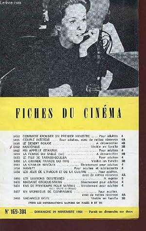 FICHES DU CINEMA - N°169-304 - 29: COLLECTIF
