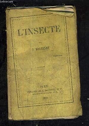 L'INSECTE.: J.MICHELET