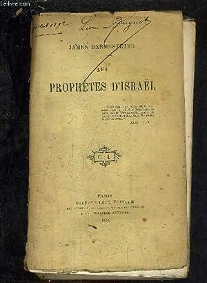 LES PROPHETES D'ISRAEL.: DARMESTETER JAMES